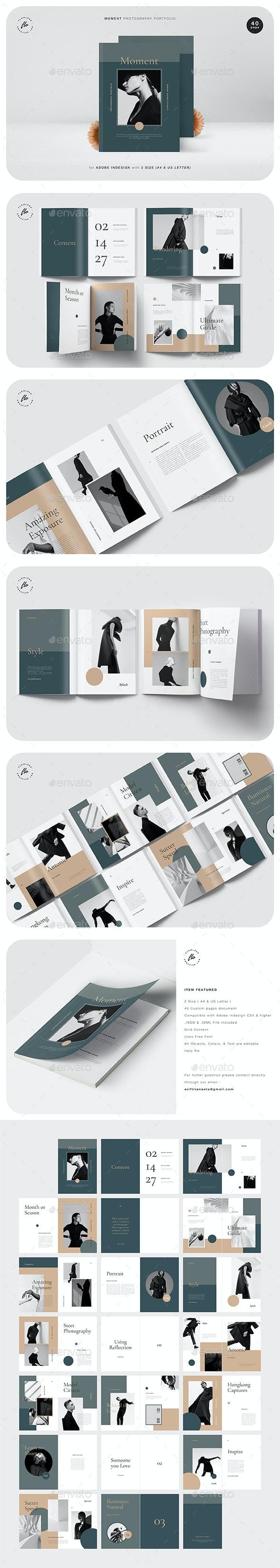 Moment Photography Portfolio - Magazines Print Templates