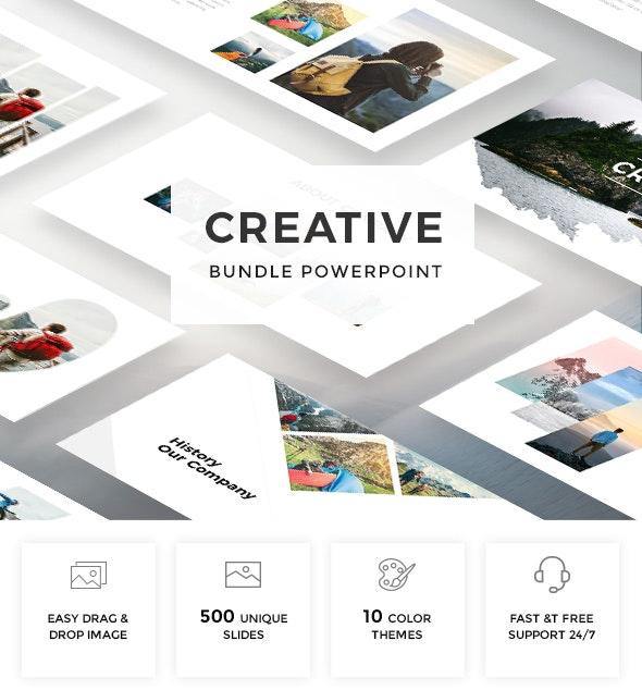 Bundle Creative - Multipurpose Powerpoint Template - Creative PowerPoint Templates