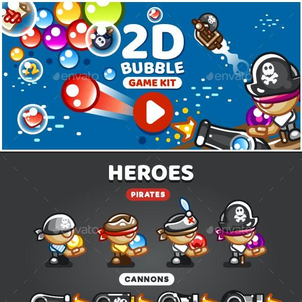 2D Bubble Game Kit