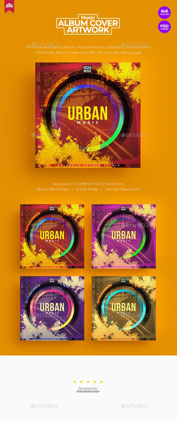 Urban - Music Album Cover Artwork - Miscellaneous Social Media