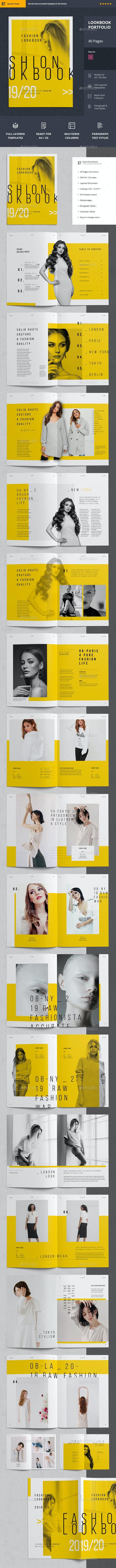 Lookbook - Catalogs Brochures