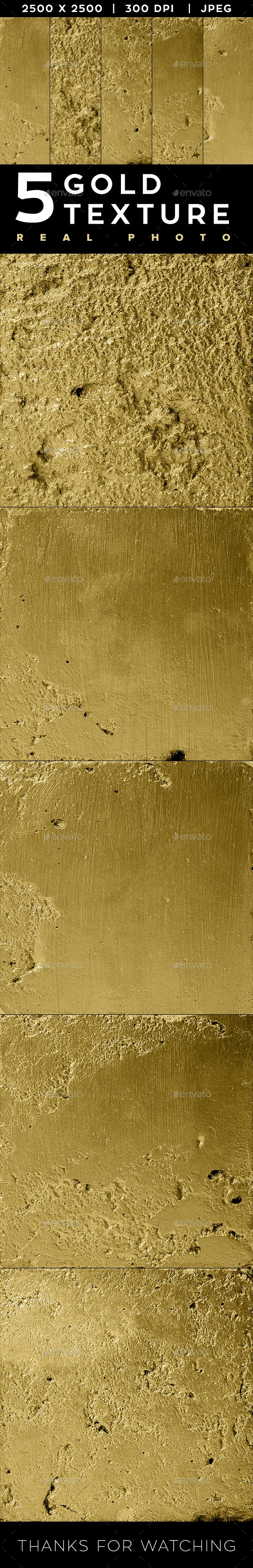 5 Gold texture - Metal Textures
