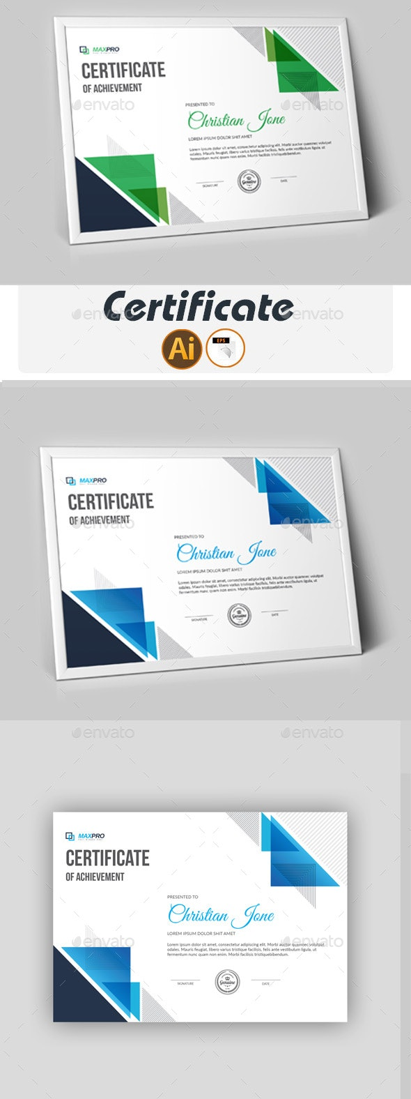 Certificate - Print Templates