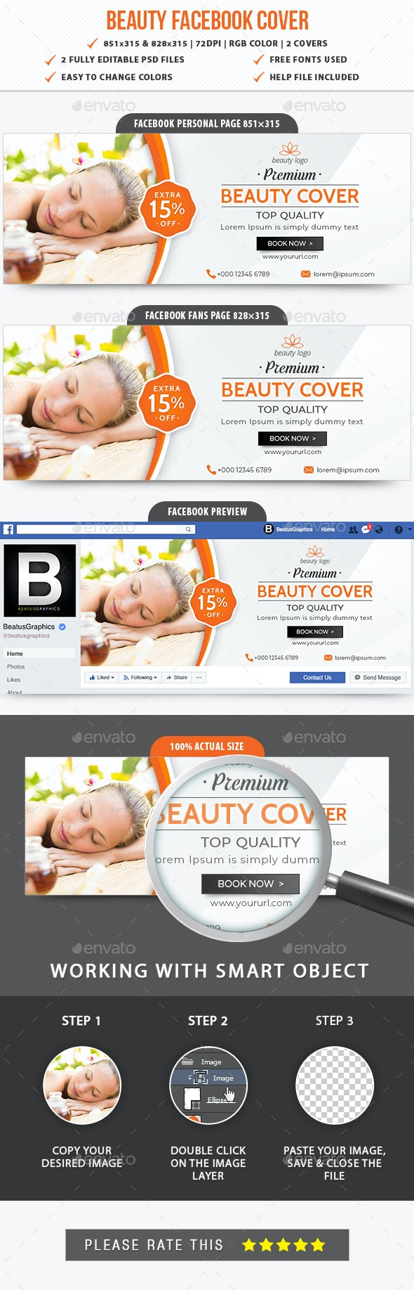 Beauty Facebook Cover - Facebook Timeline Covers Social Media