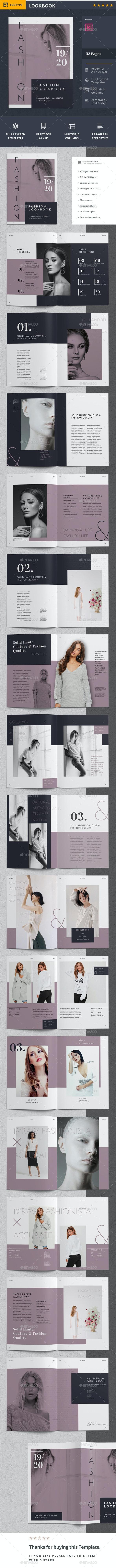 Lookbook - Portfolio Brochures