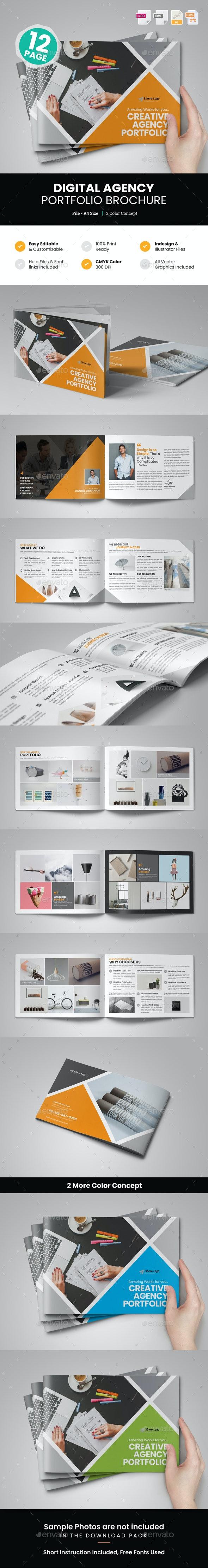 Digital Agency Portfolio Brochure v2 - Corporate Brochures