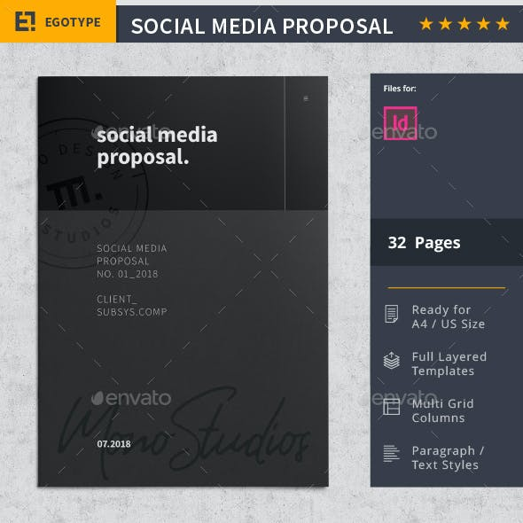 Social Media Proposal by egotype | GraphicRiver