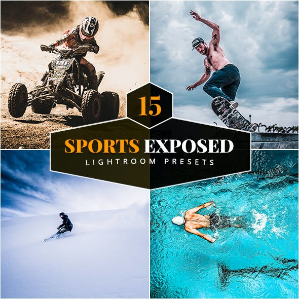 15 Sports Exposed Lightroom Presets