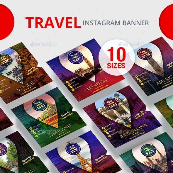 Travel Instagram Banner
