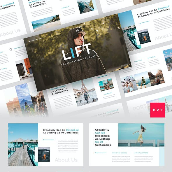 Lift - Creative PowerPoint Template
