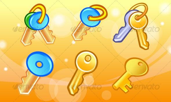 Key Icons - Web Icons