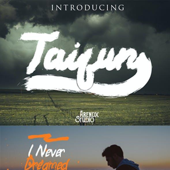 Taifun Font