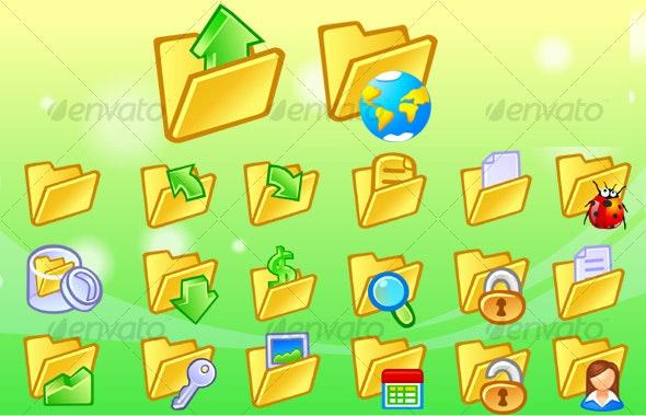 Folder Icons - Web Icons