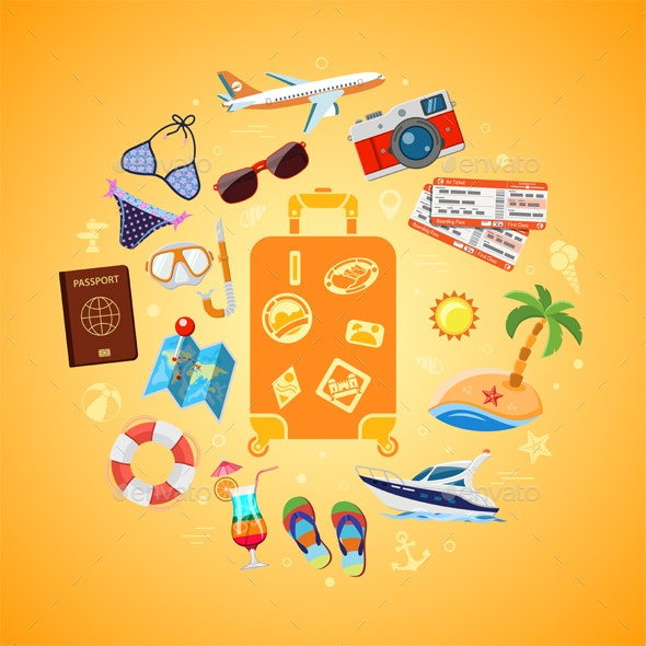 Vacation Travel and Summer Concept - Travel Conceptual