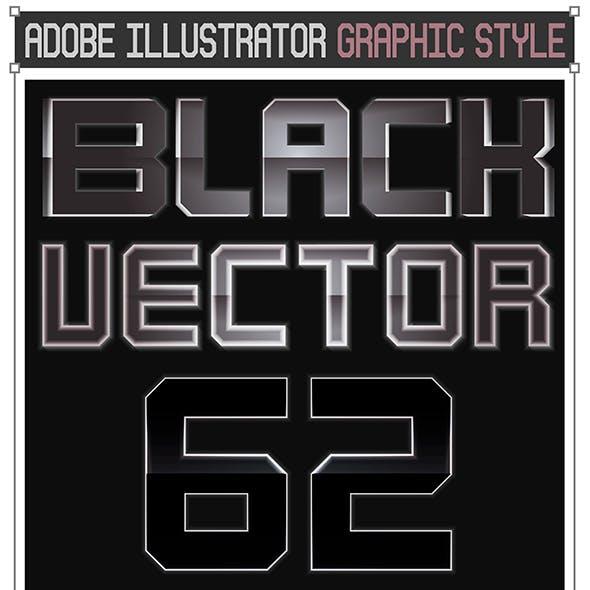 62 Black Vector Styles