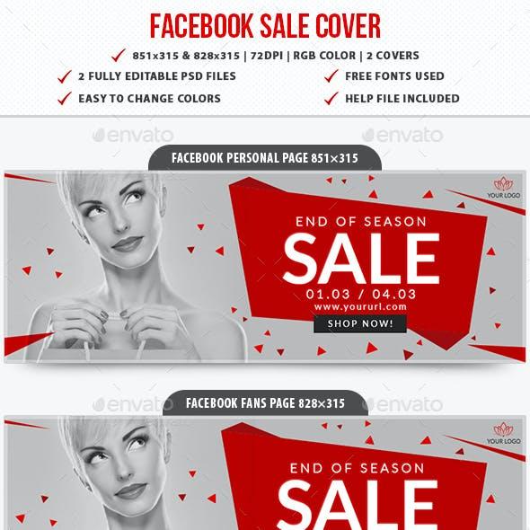Facebook Sale Cover