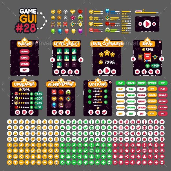 Game GUI #28 - Miscellaneous Conceptual