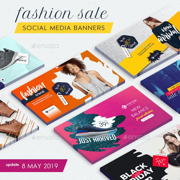 Fashion Banner Bundle