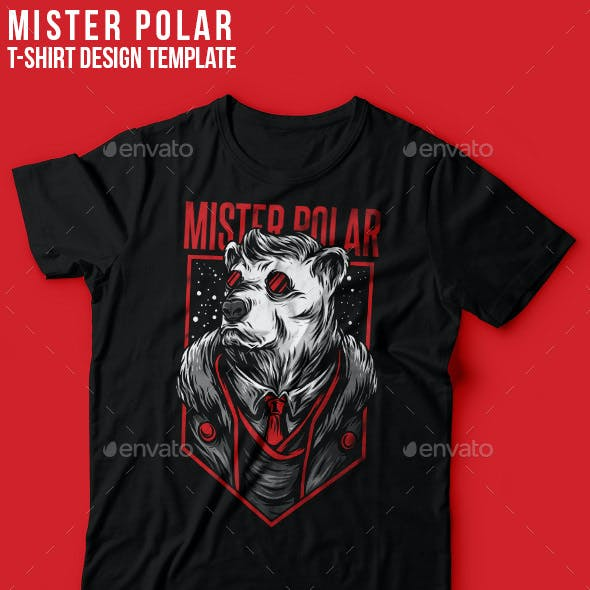 Mister Polar T-Shirt Design