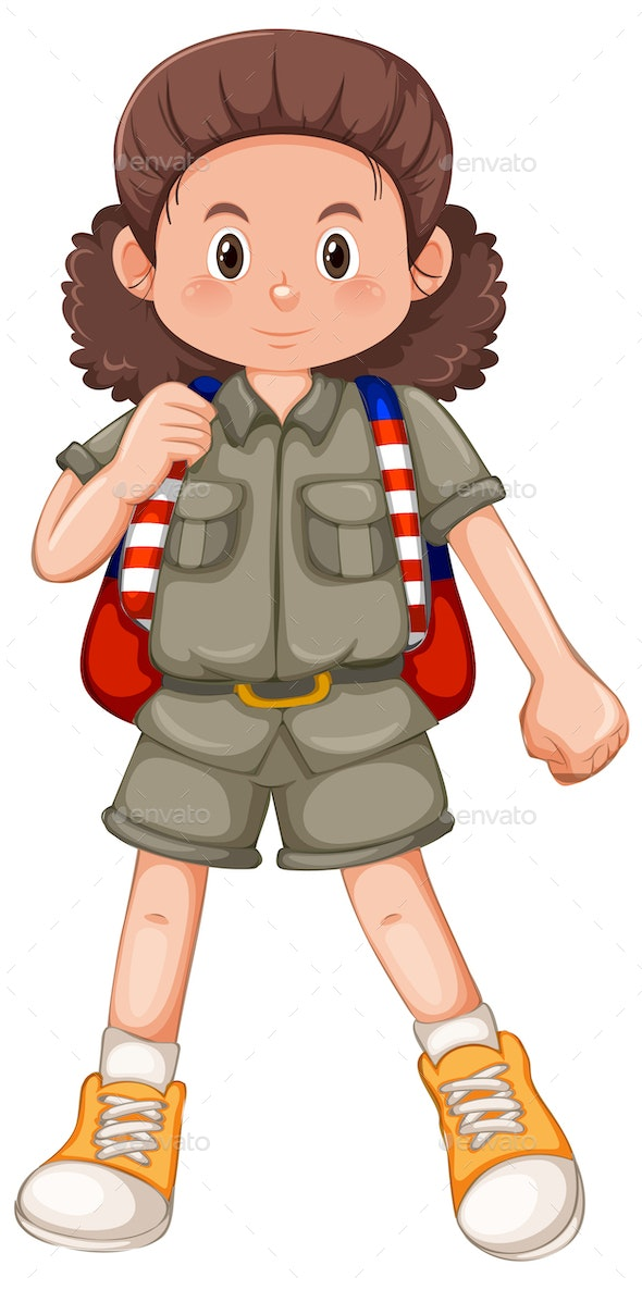 Girl Scout - People Characters