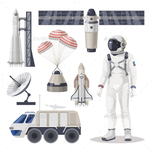 Space Exploration - Travel Conceptual