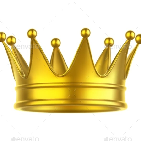 Icon of Queen or King Crown