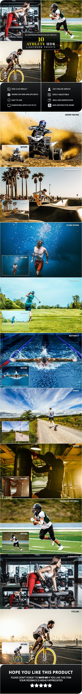 10 Athlete HDR Lightroom & Camera RAW Presets - Lightroom Presets Add-ons
