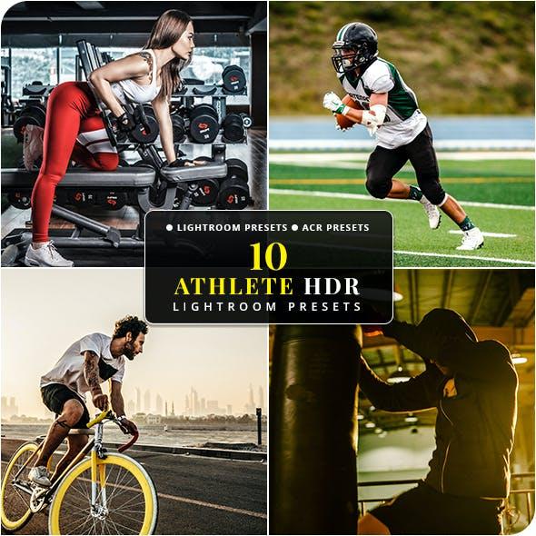 10 Athlete HDR Lightroom & Camera RAW Presets