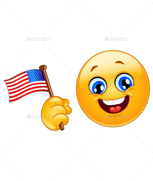 Patriot Emoticon - Miscellaneous Seasons/Holidays