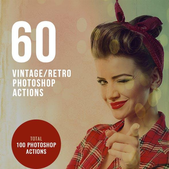 60 Retro / Vintage Photo Effects