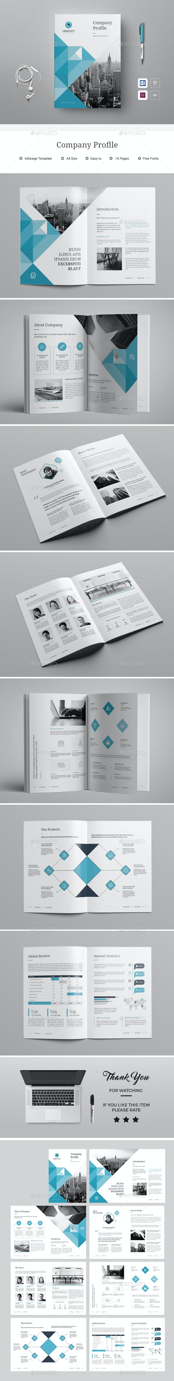 Company Proflle - Corporate Brochures