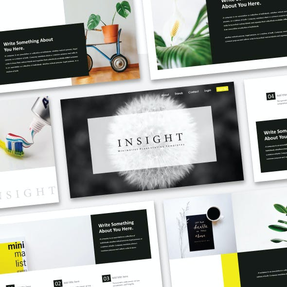 Insight - Creative Keynote Template