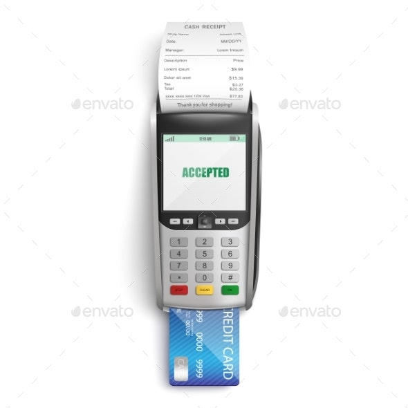 Making Successful Payment for Purchases in Shop - Miscellaneous Vectors