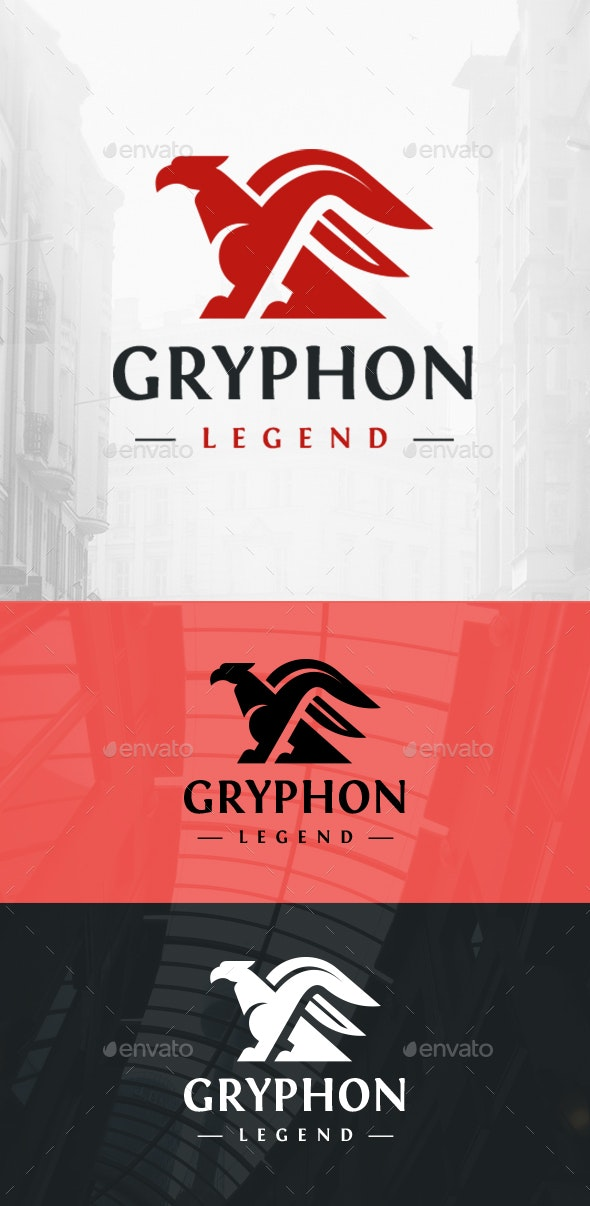 Gryphin Logo - Crests Logo Templates