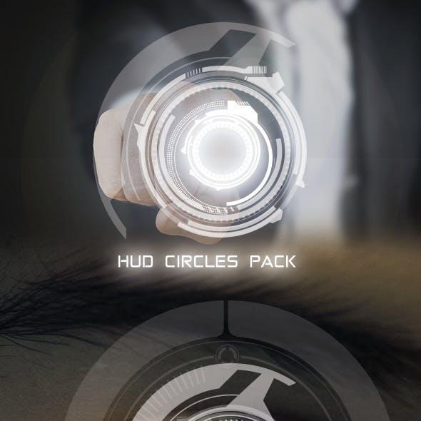 Hi-Tech Circles Custom Shapes
