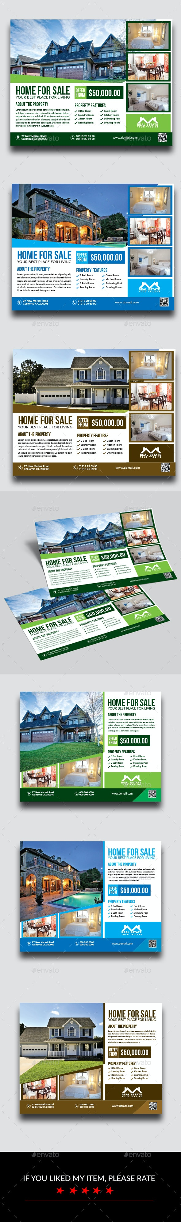 Real Estate Flyer Bundle - Flyers Print Templates