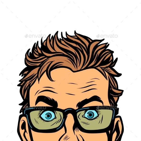 Man in Glasses - People Characters