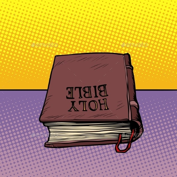 Holy Bible Book Christianity and Religion - Religion Conceptual