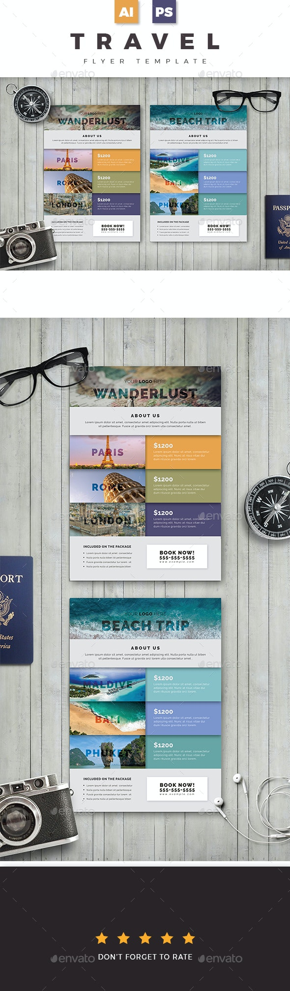 Travel Flyer 02 - Holidays Events