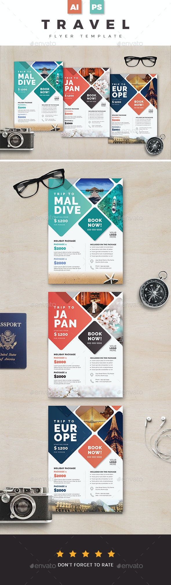 Travel Flyer 03 - Holidays Events