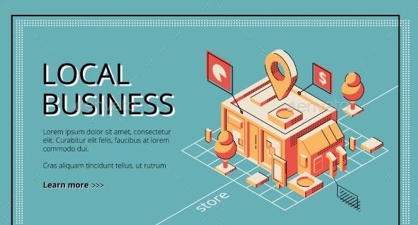 Lending Program for Local Business Vector Website - Concepts Business