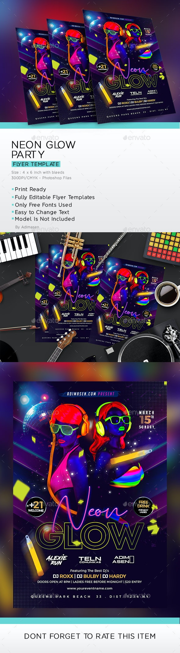 Neon Glow Party - Clubs & Parties Events