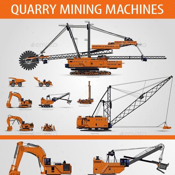 Quarry Mining Machines