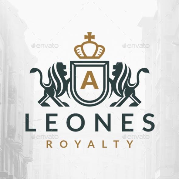 Royal Lions Shield Logo