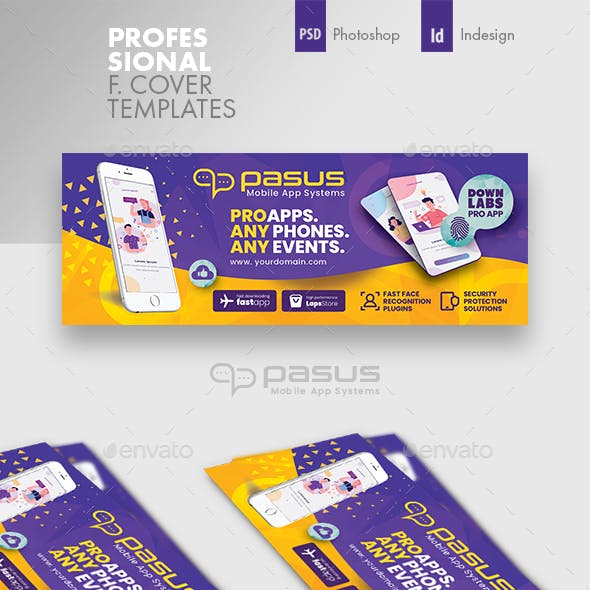 Mobile App Cover Templates