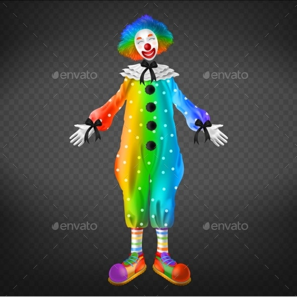 Clown in Circus - People Characters
