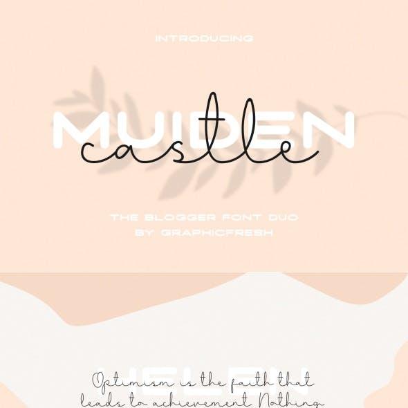Muiden Castle – The Blogger Font Duo