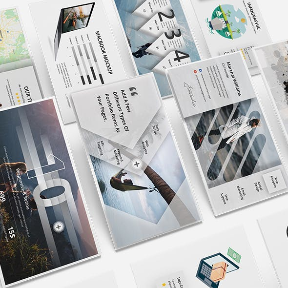 Marvel Creative & Model Powerpoint Template BIG UPDATE V2.0
