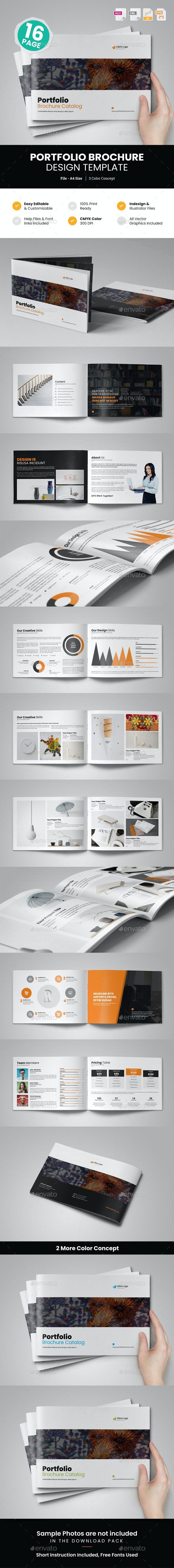 Portfolio Brochure Design v2 - Corporate Brochures