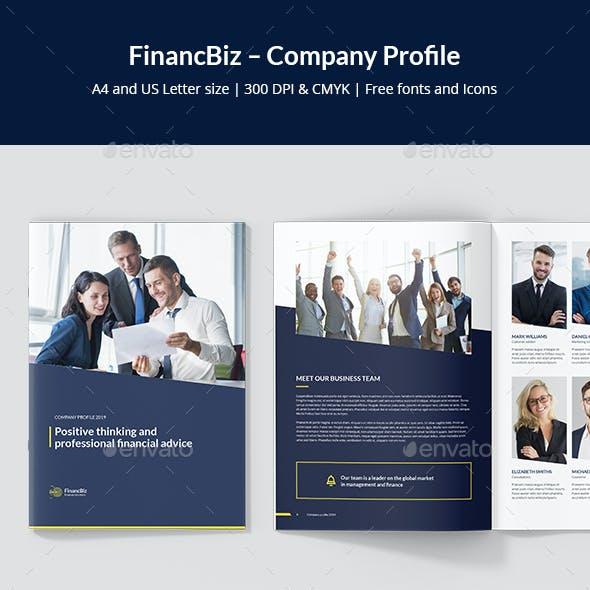 FinancBiz – Company Profile